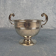 George V Small Silver Rose Bowl 1923 London