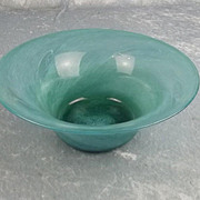 1930's Whitefriars Cloudy Glass Bowl