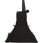 Early 17th Century Maltese Triangular Powder Flask