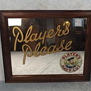 Players Navy Cut Tobacco Original Mirror Frame