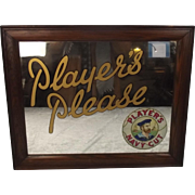 Players Navy Cut Tobacco Original Mirror Frame