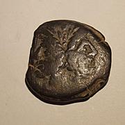 89 BC Roman Republican L. Titurius Sabinus Era Bronze As Coin