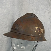 1916/17 Dated M15 Adrian Helmet