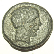 Circa 8th-5th Century BC Antique Greek-Celtibertian 'Drachma' Coin #2