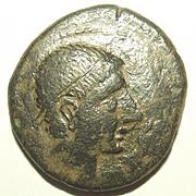 Circa 2nd Century BC Greek Iberian Tetradrachm Coin #1