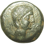Circa 2nd Century BC Greek Iberian Tetradrachm Coin #2