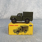 Dinky Toys 641 Army 1-Ton Cargo Truck 1954-61
