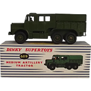 Dinky Supertoys 689 Medium Artillery Tractor 1957-61