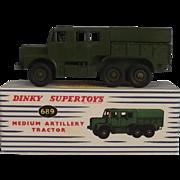 Dinky Supertoys 689 Medium Artillery Tractor 1957-61