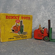 Boxed Dinky Toys 401 Coventry Climax Fork Lift Truck 1954-64