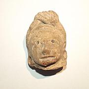 Circa 900 AD Figurehead Of A Huastec/Huaxtec Female