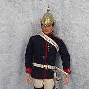 Vintage Action Man The Life Guards (Blue Uniform)