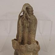 Ming Era Chinese Nephrite Jade Cabbage Sculpture