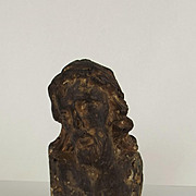 16th Century Wood Carving Of Christ