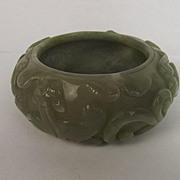 Ching Period Nephrite Jade Water Vessel