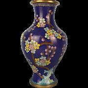 20th Century Japanese Cloisonné Vase
