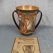 Royal Doulton Edward VIII Coronation Loving Cup Limited Edition Circa 1937
