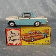 Boxed Corgi Toys No. 231 Triumph Herald Coupe