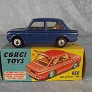 Boxed Corgi No. 251 Hillman Imp 1963-66