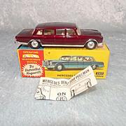Boxed Corgi Toys 247 Mercedes Benz 600 Pullman