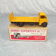 Boxed Dinky Supertoys No.513 Guy Flat Truck