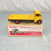 Boxed Dinky Supertoys 512 Guy Flat Truck 1st Type Cab #2