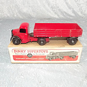 Boxed Dinky Toys 521 Bedford Red Articulated Lorry