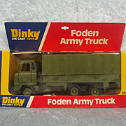 Boxed Dinky 668 Foden Army Truck