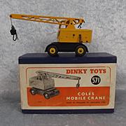 Dinky 571 Coles Mobile Crane