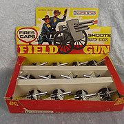 Lone Star Field Gun Trade Box & 12 Complete Field Guns