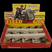Lone Star Field Gun Trade Box & 12 Complete Field Guns