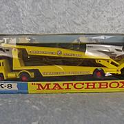 Matchbox K-8 Guy Car Transporter