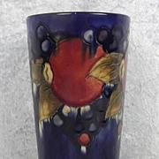 Circa 1928-1949 Moorcroft Pottery Pomegranate Pattern Pottery Vase