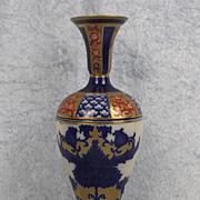 Circa 1900 Moorcroft MacIntyre Aurelian Slender Pottery Vase