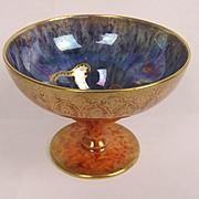 Wedgwood Tiger Lustre Pedestal Bowl