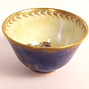 Circa 1914-15 Miniature Wedgwood Dragon Boston Cup Lustre Bowl