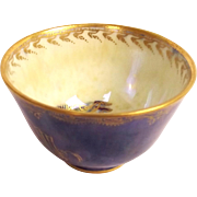 Circa 1914-15 Miniature Wedgwood Dragon Boston Cup Lustre Bowl