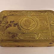 Brass Princess Mary Christmas Tin 1914 #2