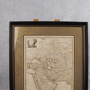 """Pierre M. Lapie Circa 1830 Cartographic French Map Of Asia """"Asie"""""""