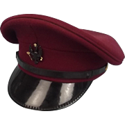 Kings Royal Hussars Service Cap Armoured Corps