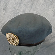 UN Peace Keepers Service Beret