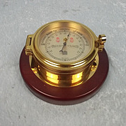 Sewills Of Liverpool Brass Barometer