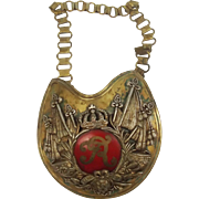 Late 19th / Early 20th Century German Officers Gorget