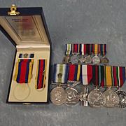Falkland Medals Petty Officer D/1835860 D. Devlin HMS Alacrity