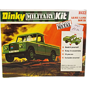 Dinky Military Kit 1032 Army Land Rover, 1975, Unopened
