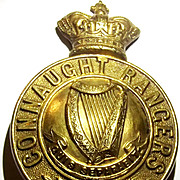 Victorian Connaught Rangers Helmet Badge