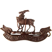 Royal Warwickshire Regiment Volunteer Militia Badge