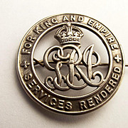 WW1 Silver Wound Badge – No. 336665 Pte. Jos Hayward, Devon Regiment
