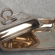 1911 Dated Sterling Silver Terrine From Harrods