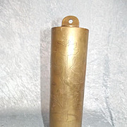 WW1 French 75mm Gas Shell Trench Art